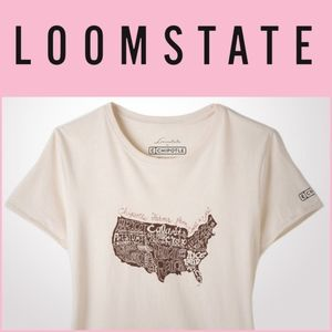 NEW Loomstate Chipotle Across America tee